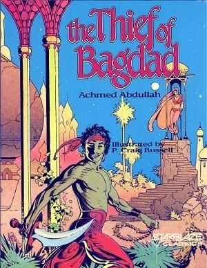 the thief of Bagdad, cover © degli aventi diritti