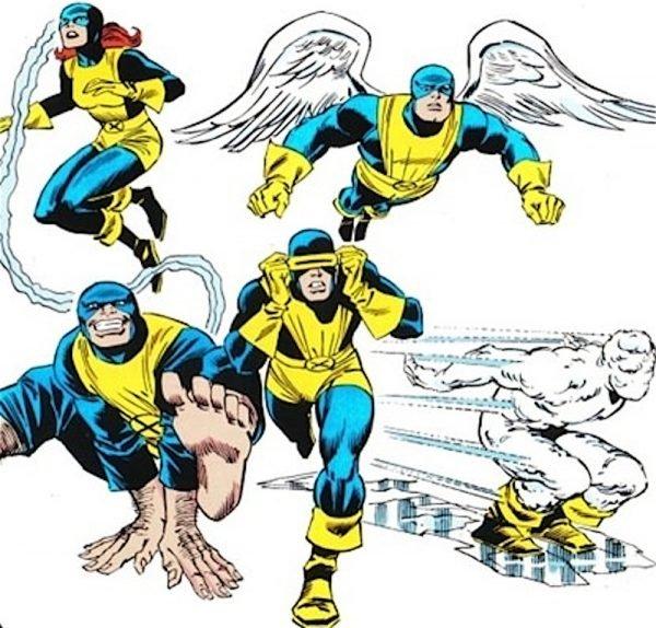 Gli X-Men la prima formazione di supereroi 'diversi' della Marvel