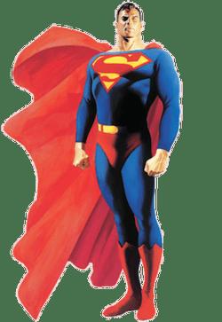 Superman è una sorta di divinità di stampo giudaico-cristiano, nella versione di Alex Ross