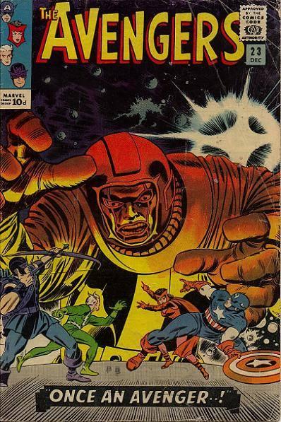 cover di AVENGERS 23 (JOHN ROMITA, insieme a Jack Kirby),