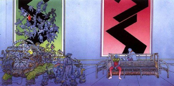 """Illustrazione tratta dall'opera """"La Cité Feu"""""""