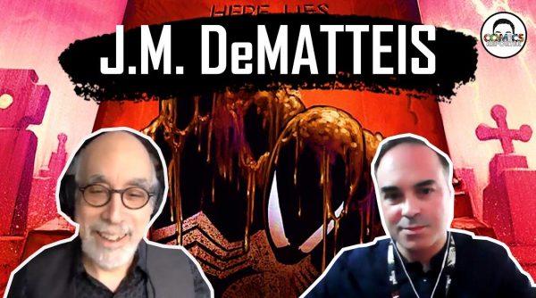 Banner dell'intervista a J.M. De Matteis
