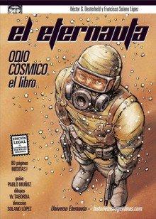 """Copertina del volume """"Odio Cosmico"""" (2008)"""