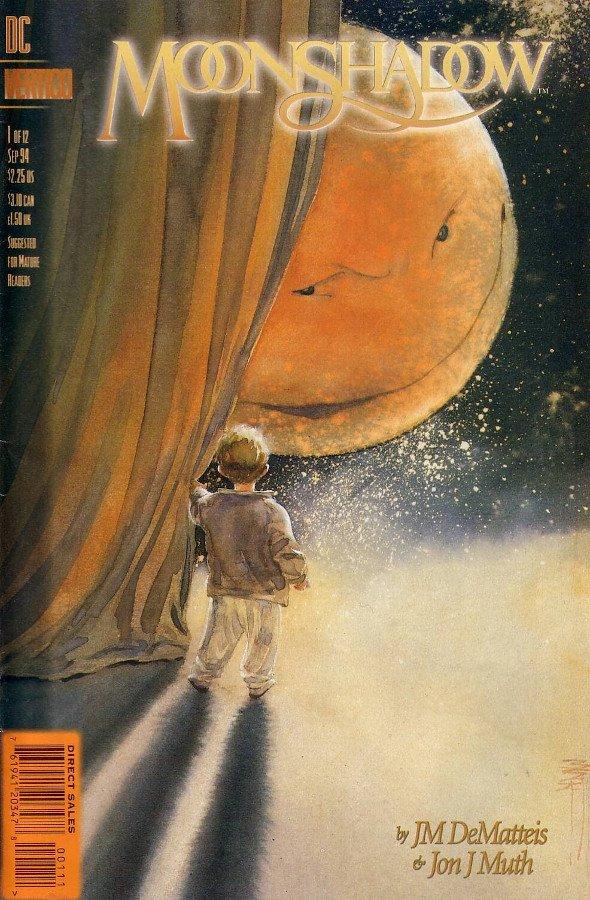 cover del n. 1 della maxi serie moonshadow