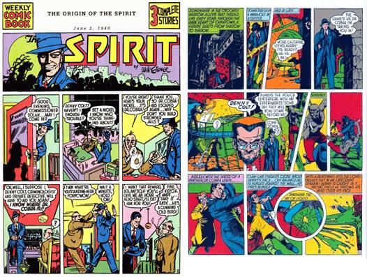 Le origini di Spirit, nella versione del 1940