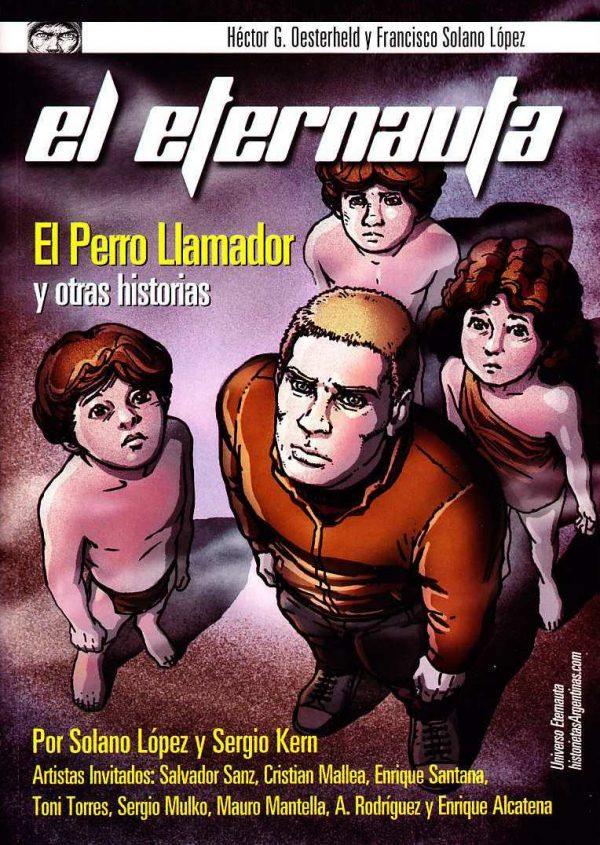 "Copertina del volume ""EL PERRO LLAMADOR"" (2010), ancora inedito in Italia"
