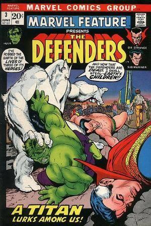 """In MARVEL FEATURE 3 del 1972 ricomparve il titanico criminale alieno che per primo nel 1960 aveva portato il titolo di """"Hulk"""", un enorme pelouche bianco telepatico e malvagio, ribattezzato Xemnu."""