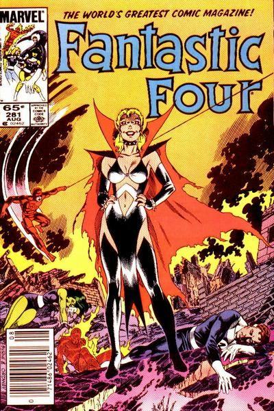 Uno dei momenti topici in cui Sue Storm mostra un altro lato della sua personalità (Malice). Da Fantastic Four #281