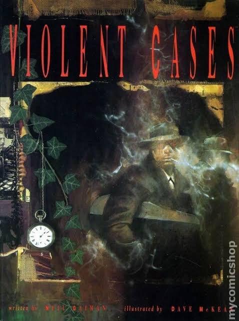 cover del graphic novel Violent Cases, pubblicato da Tundra Publishing