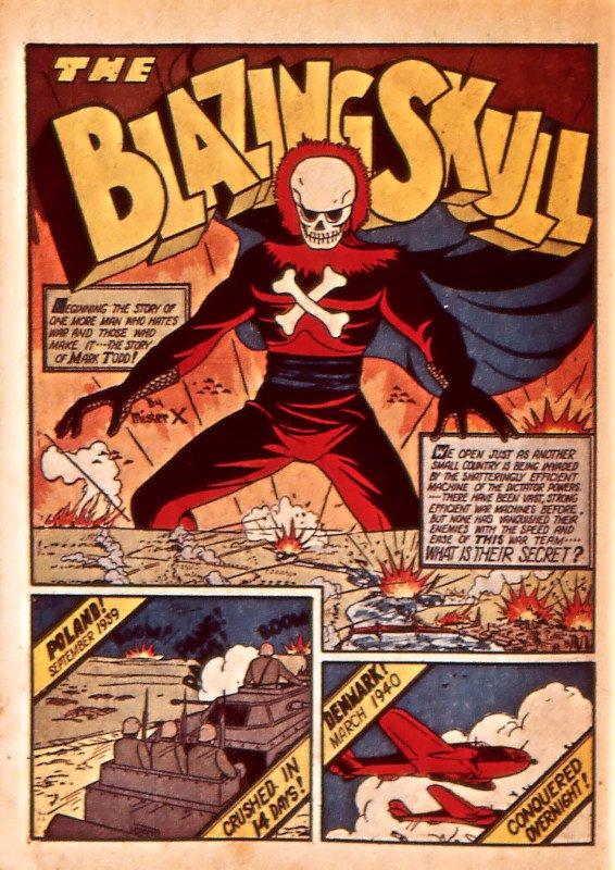 Mystic Comics 5 - Page 58 - blazing skull