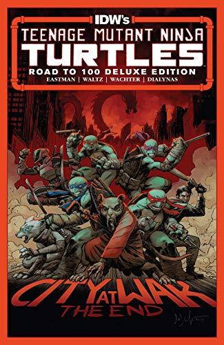 La cover del n. 100 della serie Teenage Mutant Ninja Turtles (pubblicato a febbraio 2020)