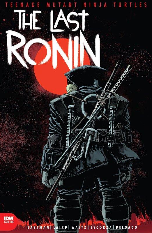 cover dell'albo n. 1 di The last Ronin