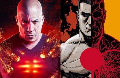Vin Diesel e bloodshot dal film