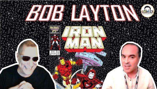 banner dell'intervista con l'autore Bob Layton
