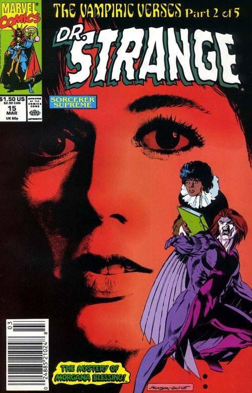 Cover dell'albo DOCTOR STRANGE #15 del 1990