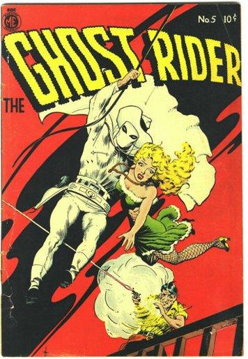 il primo ghost rider del 1950 - cover #5