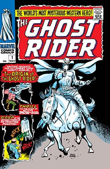 Cover #1 del titolo Ghost rider del 1967