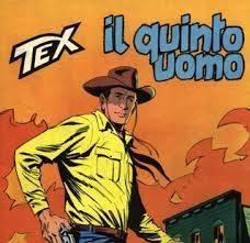 """STRALCIO della Copertina del 180 di Tex, """"Il Quinto Uomo"""""""