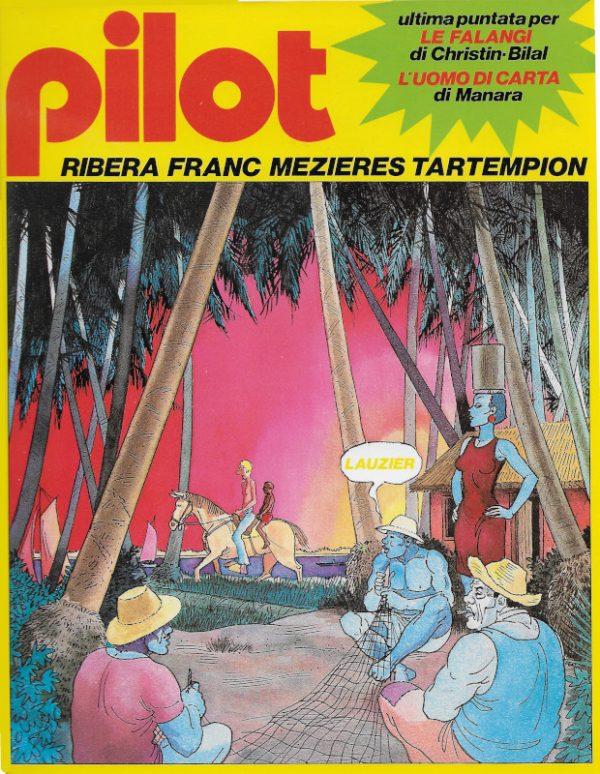 Copertina del n. 4 della rivista PILOT (EDIZIONE ITALIANA), marzo 1982.