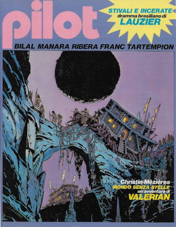 Copertina del n. 3 della rivista PILOT (EDIZIONE ITALIANA), febbraio 1982.