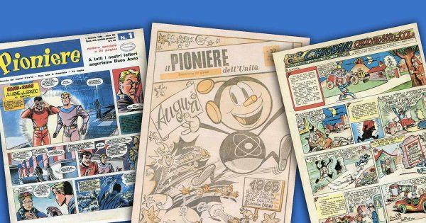 """Collage di copertine de """"Il Pioniere"""" estratto dal sito """"http://www.ilpioniere.org/ """""""