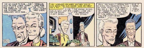 proto zia May di peter parker, versione 2, da OUT OF THIS WORLD #6 del 1957