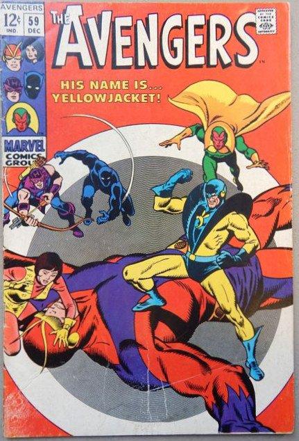 Avengers #69 - con il debutto di YELLOWJACKET
