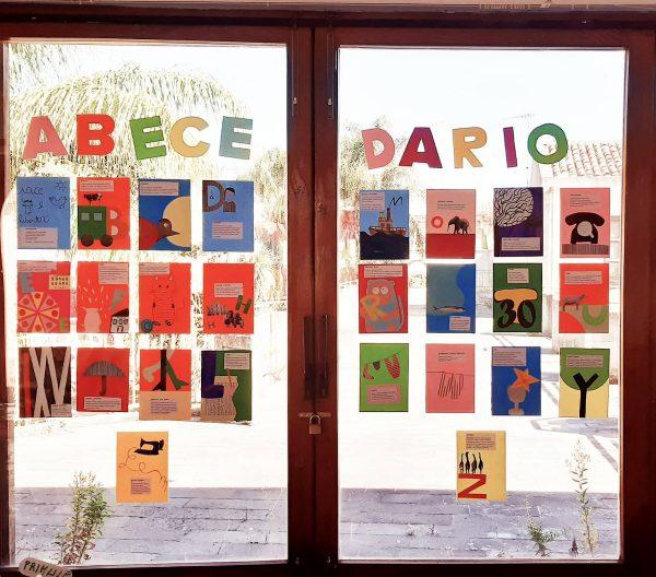 """""""'abecedario"""". foto estratta dalla mostra """"Il favoloso Gianni"""""""