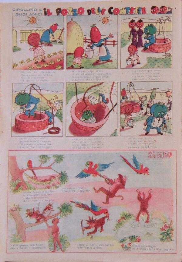 """pagina estratta dal n°3 de """"Il Pioniere"""" del 17 settembre 1950"""