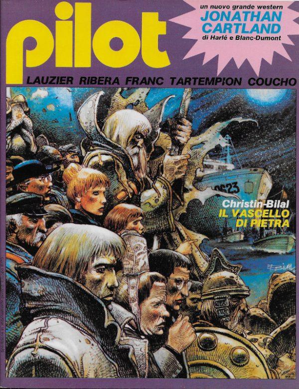 Copertina del n. 5 della rivista PILOT (EDIZIONE ITALIANA), maggio 1982.