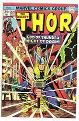 Cover dell'albo Thor 229, nel quale appare l'annuncio promozionale sull'imminente esordio dell'Arma X nella serie di HULK.