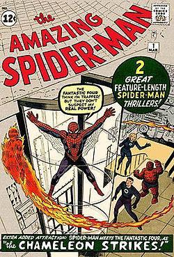 Cover dell'albo Amazing spiderman 1