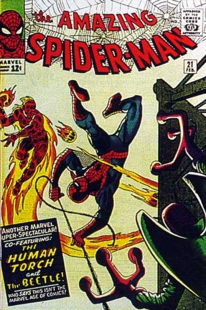 Cover dell'albo Amazing spiderman 21
