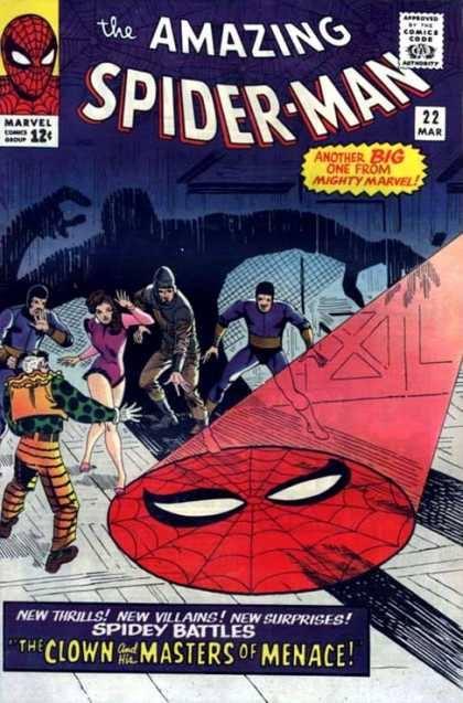 Cover dell'albo Amazing spiderman 22
