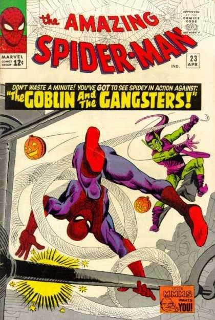 Cover dell'albo Amazing spiderman 23