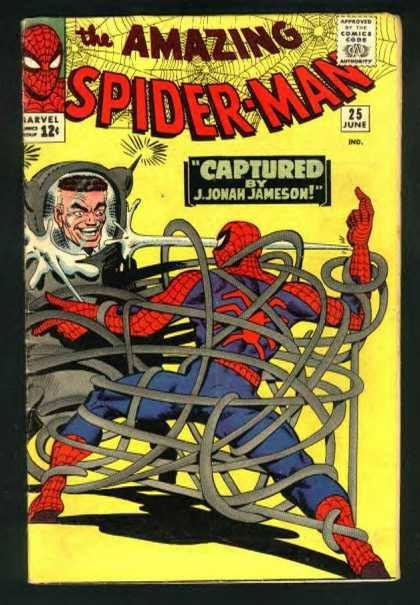 Cover dell'albo Amazing spiderman 25