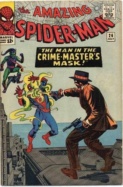 Cover dell'albo Amazing spiderman 26