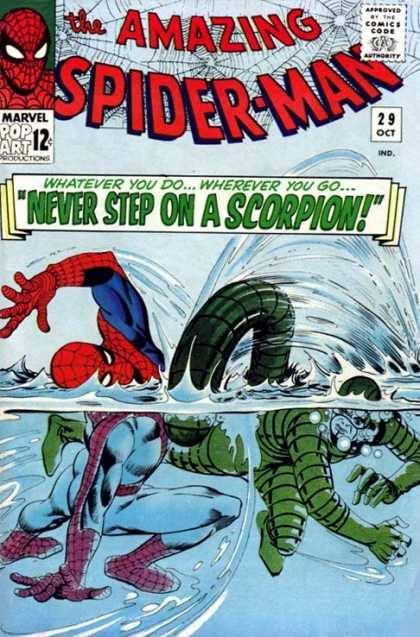 Cover dell'albo Amazing spiderman 29