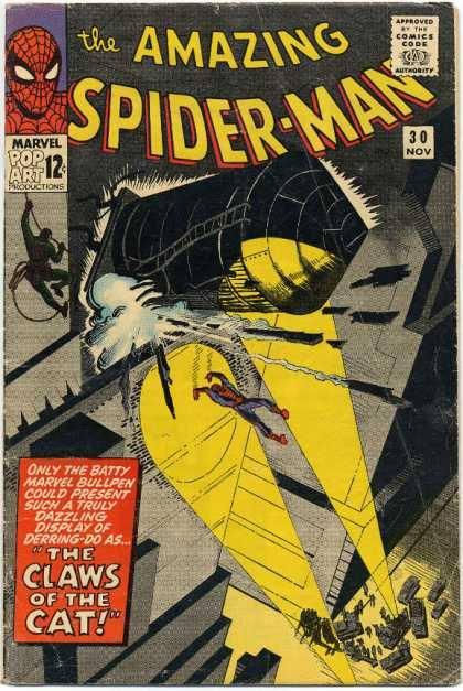 Cover dell'albo Amazing spiderman 30