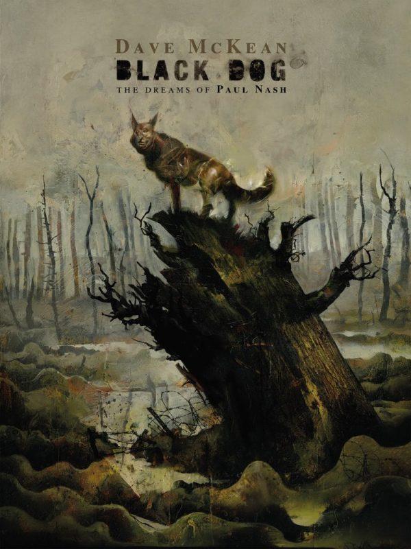 comic book:  Black Dog - The dreams of  Paul Nash. cover di Dave McKean