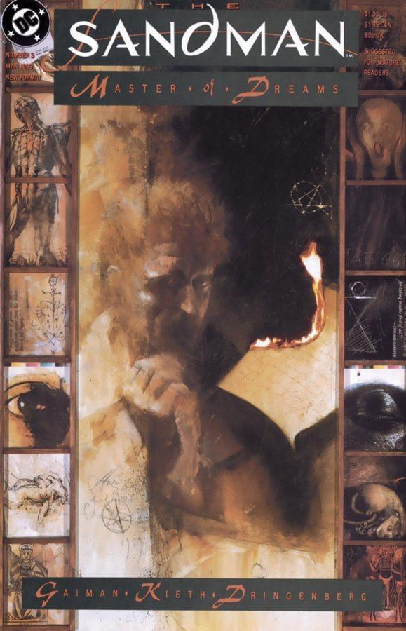 cover del n. 3 di Sandman con  John Constantine.