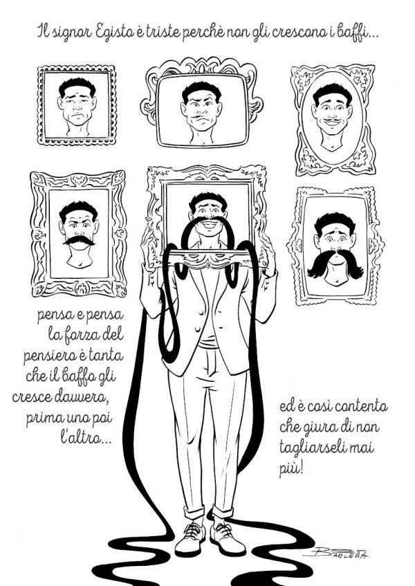 LA MONO STORIA DI ELISABETTA BARLETTA, NEL SUO TRIBUTO A  GIANNI RODARI
