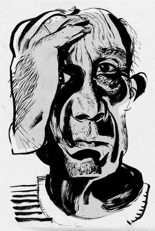 Picasso di dave Mckean