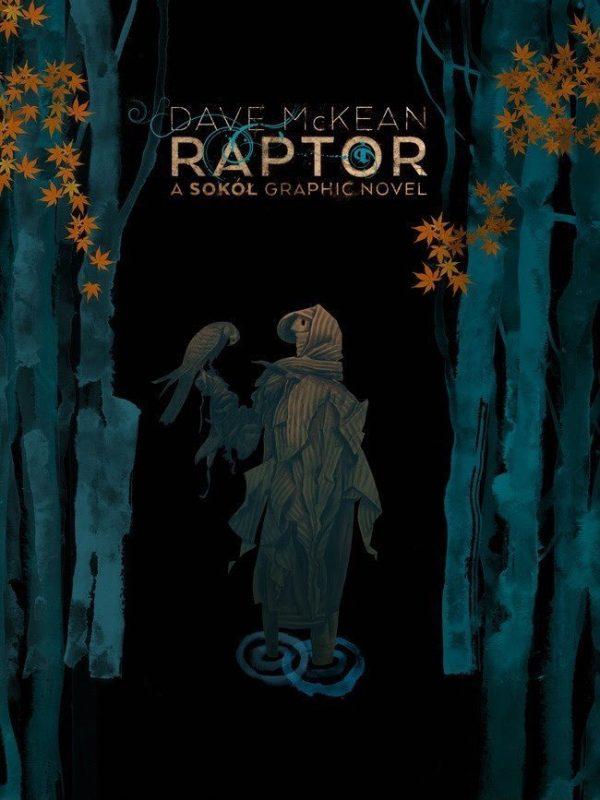 Raptor cover di Dave McKean