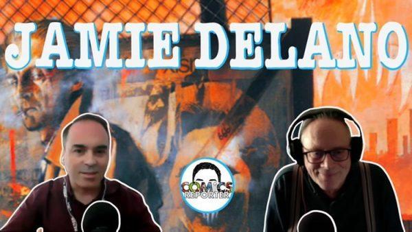 banner intervista a Jamie Delano