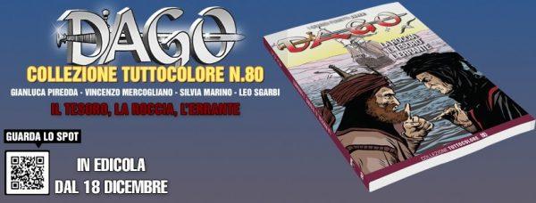 banner promozionale di DAGO TUTTOCOLORE n.80 (Editoriale Aurea)