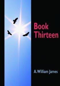 Copertina del primo romanzo di Jamie Delano, intitolato: Book Thirteen.
