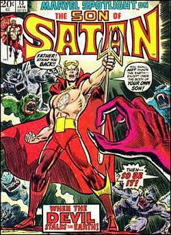 MARVEL SPOTLIGHT 13: con  Daimon Hellstrom, il FIGLIO DI SATANA.