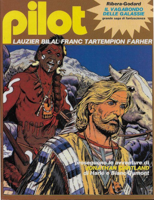Copertina del n. 7 della rivista PILOT (EDIZIONE ITALIANA), luglio 1982.