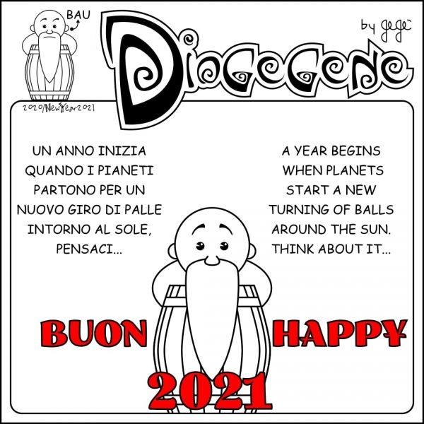 Vignetta del nostro socio onorario, nonché co-fondatore della fanzine Fumettomania, Giovanni Genovesi